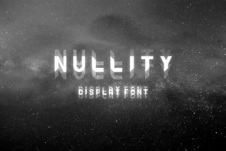 Free Nullity Font