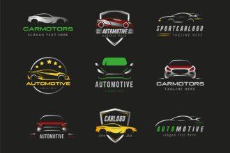 Free Car Logo set Template in PSD + Vector (.ai+.eps)