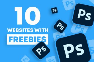 10 Best Websites with Adobe Photoshop Freebies