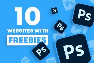 10 Best Websites with Adobe Photoshop Freebies