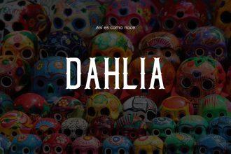 Free Dahlia Typeface
