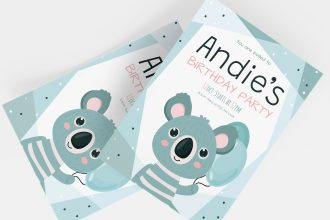 Free Birthday Invitation Templates in PSD + Vector (.ai+.eps)