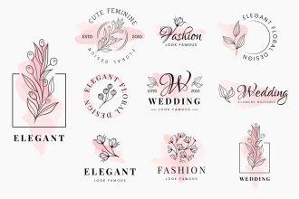 Free Elegant Logos Templates in EPS + PSD