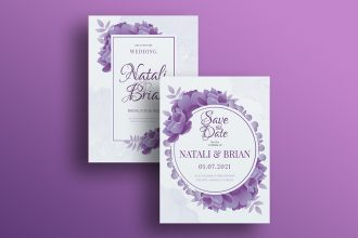 Free Wedding Templates in PSD + Vector (.ai+.eps)