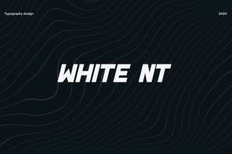 Free White NT Font