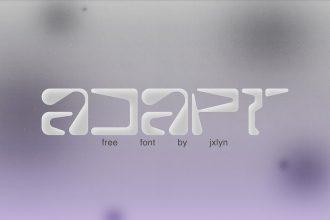 Free Adapt Font