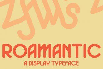 Free Roamantic Font