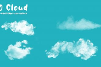 Free 10 Clouds PSD Templates