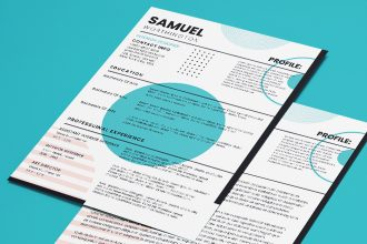 Free CV and Cover Letter Templates in PSD + Vector (.ai+.eps)