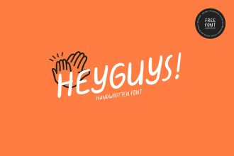 Free HeyGuys! Font