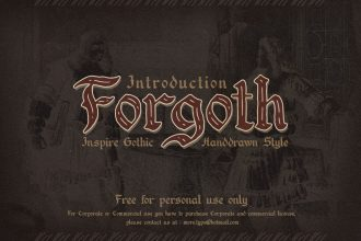 Free Forgoth Typeface