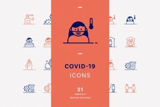 Free Covid-19 Icons