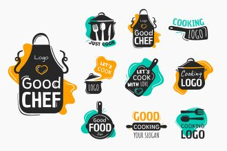 Free Cooking Logos Templates in EPS + PSD