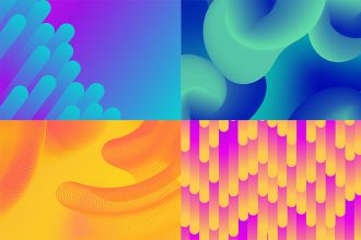 Free Gradient Backgrounds Set in EPS + PSD