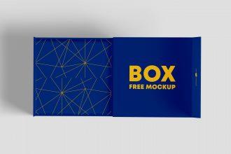 FREE PSD BOXES MOCKUP