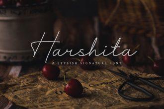 Free Harshita Font