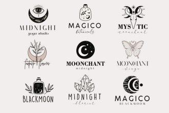 Free Creative Logo Templates set Photoshop + Vector (.ai+.eps)