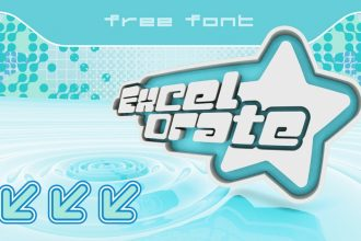 Excelorate – Free Y2K font