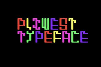 Free PIXWEST Typeface