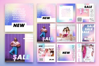 FREE PSD INSTAGRAM FASHION TEMPLATE