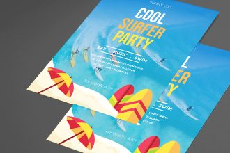 Free Party Flyer PSD