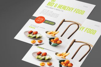Free Food Flyer Template in PSD