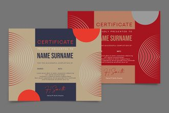Free Gift Certificate PSD