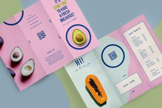 Free PSD Tri-fold Brochure Template