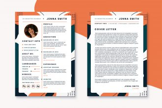 Free CV and Resume PSD Template