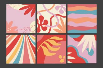 Free Abstract Background Set