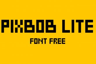 Free PixBob Font