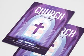 Free Church Flyer Template