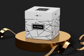Free Box Mockup