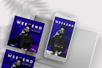 40+ Free Instagram Templates for Party and DJ's in PSD