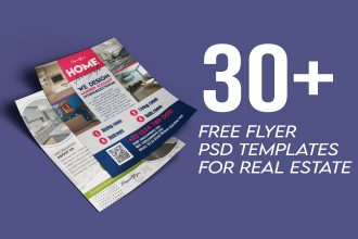 30+ Awesome Free Real Estates Flyer Templates in PSD