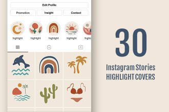 30 Instagram Stories Highlight Covers