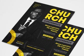 Free Church Flyer Template
