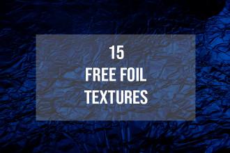 Free Foil Textures Set