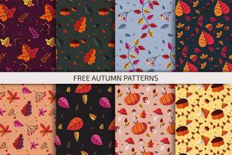 Free Autumn Patterns