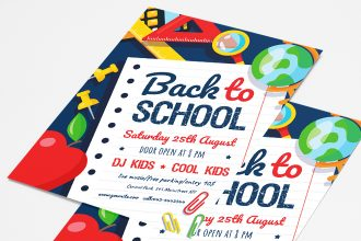Free Back To School Flyer Template