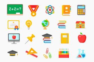 Free Education Icon Set