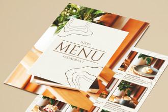 Free Restaurant Menu PSD Template
