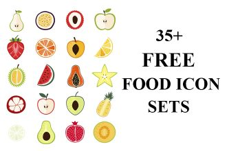 35 Best Free Food Icons