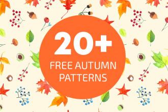 20+ Free Autumn Patterns