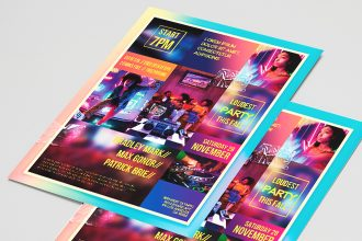 Free Club Flyer PSD Template