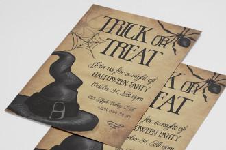 Free Halloween Invitation Template
