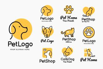 Free Pet Logo Set
