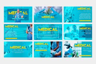9 Free Medical Clinic Facebook Banner Set