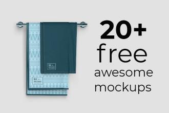 20+ Free Awesome Mockups
