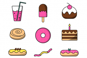 Free Sweets Icon Pack